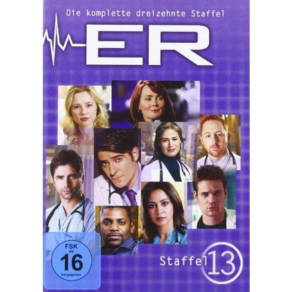 Emergency Room - Staffel 13  [6 DVDs]