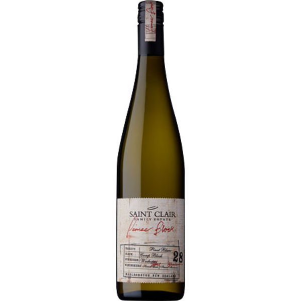 Saint Clair 'Pioneer Block' Pinot Blanc 2019, Marlborough