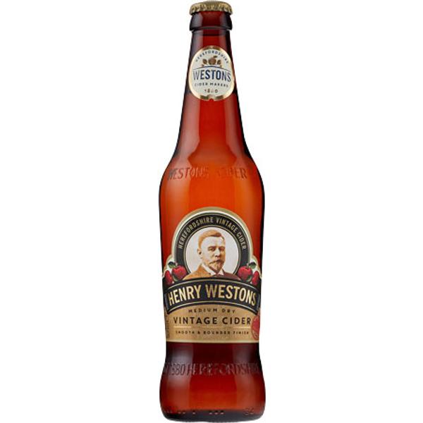 Henry Westons Vintage Cider 8x500ml Bottles