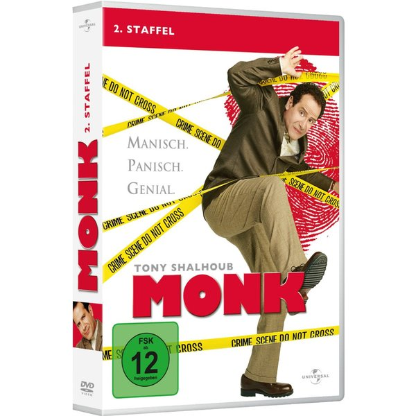 Monk - Staffel 2 (4 DVDs)
