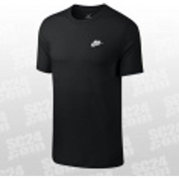 Nike Sportswear Club Men's T-Shirt - Black