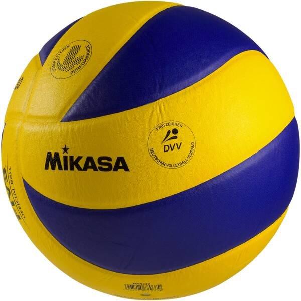 Mikasa Volleyball MVA 330 (Größe: 5, Farbe: 900 gelb/blau)
