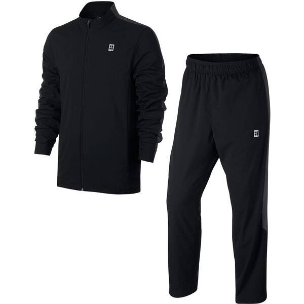NIKE Herren Tennis-Trainingsanzug Woven Warm Up