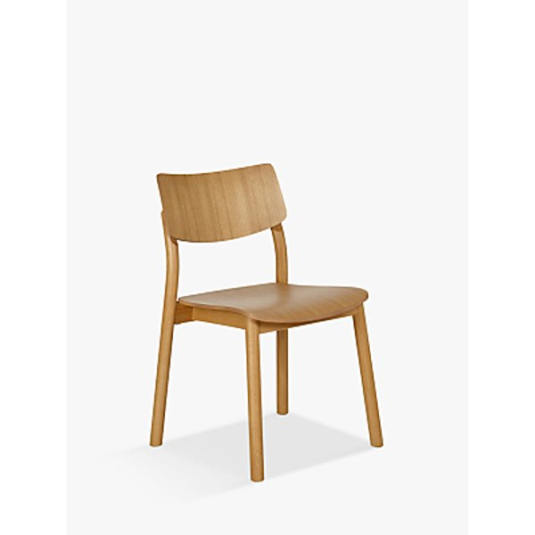 67. Design Project by John Lewis No.036 Dining Chair, Oak: £199, John Lewis