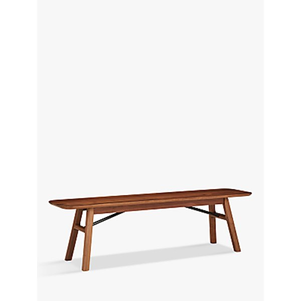 1. Design Project by John Lewis No.036 Dining Bench, Solid Walnut Oak: £399, John Lewis