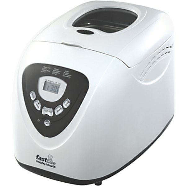 6. Morphy Richards Fastbake Breadmaker, White: £54.99, John Lewis