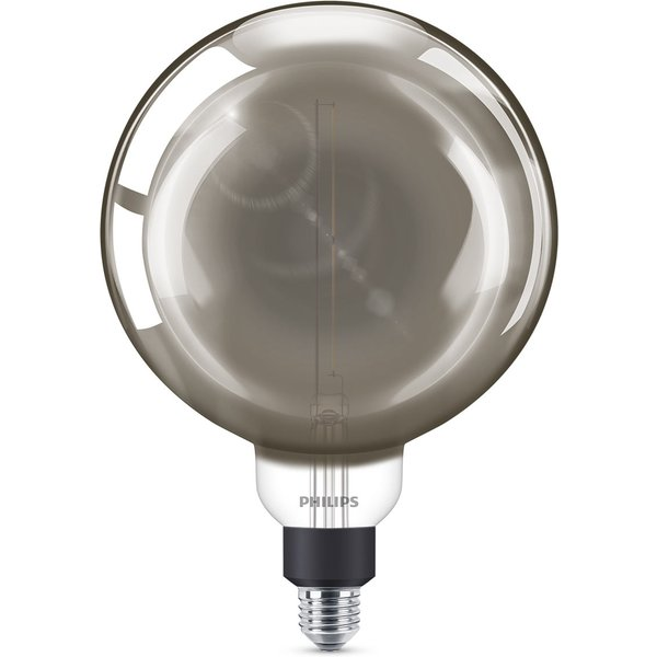 Philips E27 Giant ampoule globe LED 6,5W smoky