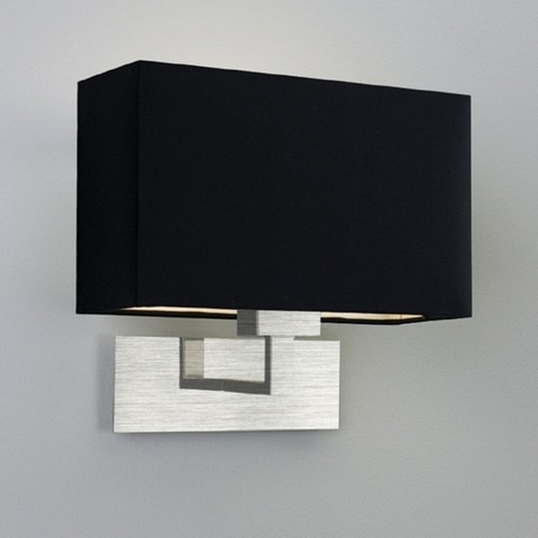 Park Lane Table Light Elegant Polished / Black