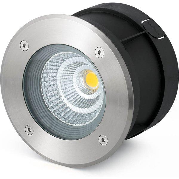 LED-Bodeneinbauspot Suria-12, 24° Abstrahlwinkel