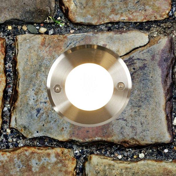 Runde LED-Bodeneinbauleuchte LED-18