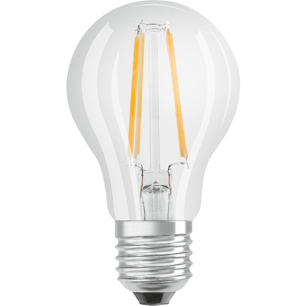 OSRAM LED EEK A++ (A++ - E) E27 Glühlampenform 7W Warmweiß bis Kaltweiß 1St.