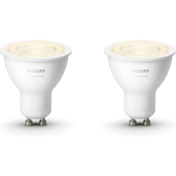 Philips Hue White GU10 Bluetooth (lot de 2)