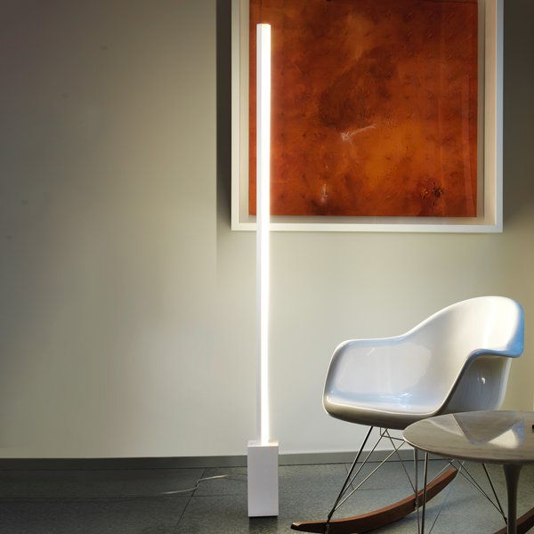 Grok Circ lampadaire LED aluminium avec variateur