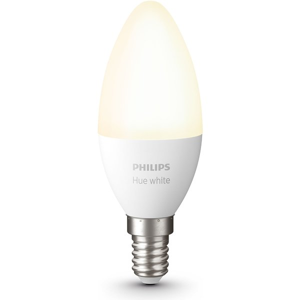 Philips Hue White 5,5 W E14 ampoule flamme LED