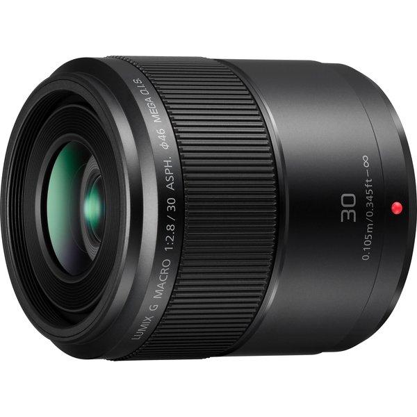 Objectif macro Panasonic Lumix 2,8/30 OIS f/22 - 2.8 30 mm