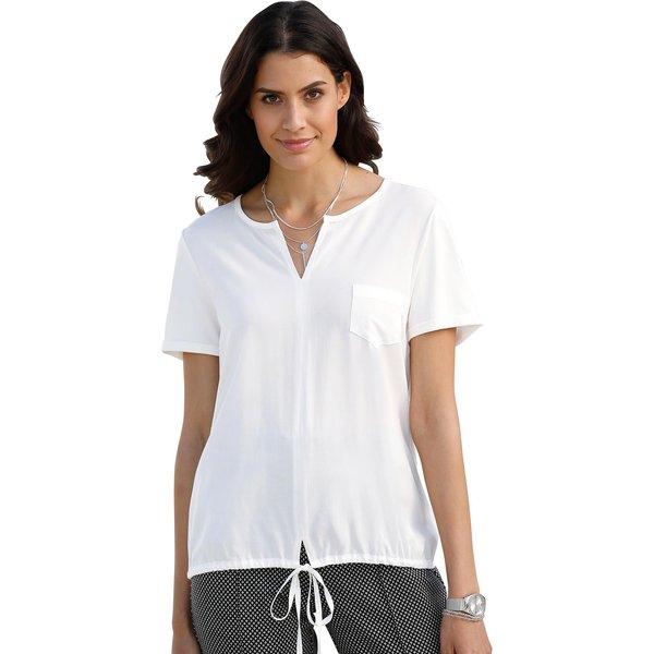 Classic Inspirationen Blusenshirt mit Bindeband zur Weitenregulierung