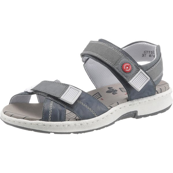 rieker Klassische Sandalen blau-kombi Damen Gr. 36