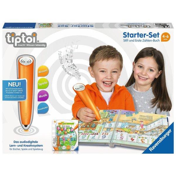 TIPTOI Starter Set : First Numbers Book, DE