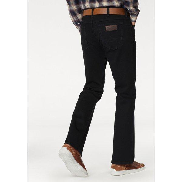 WRANGLER Bootcut-Jeans 'Jacksville' schwarz