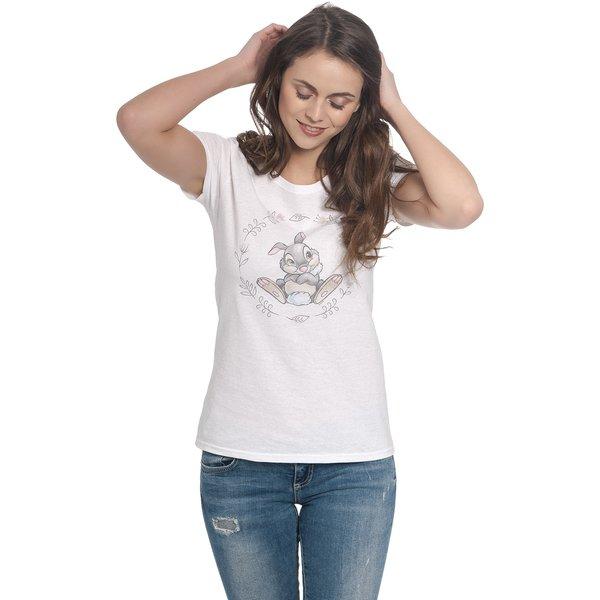 Bambi - Thumper - Girls shirt - white (359480)