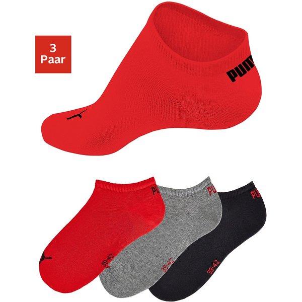PUMA Sneakersocken (3 Paar) in klassischer Form