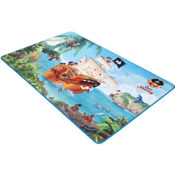 Spiegelburg Kinderteppich Capt'n Sharky, 100 x 160 cm