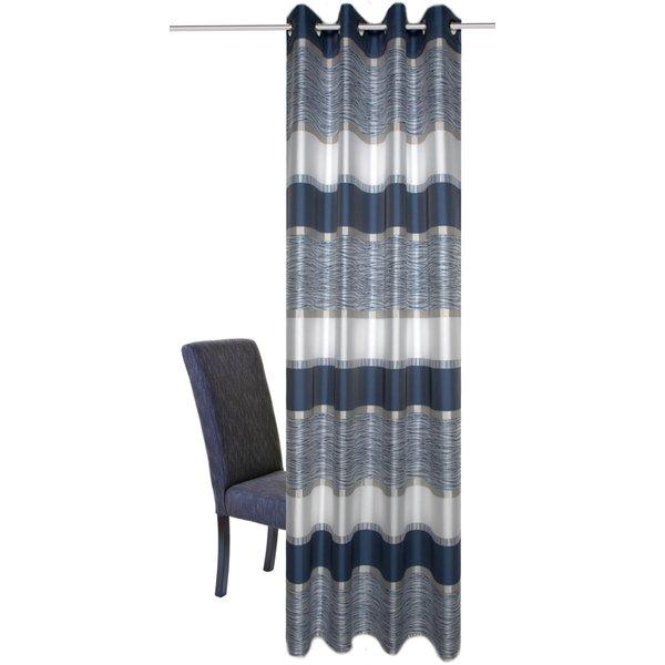 Vorhang, »Tilos«, HOME WOHNIDEEN, Ösen 1 Stück