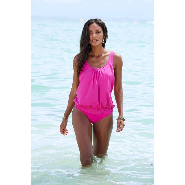 LASCANA Tankini-Top »Italy«, in Oversize-Form