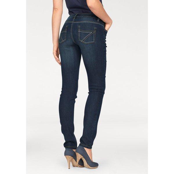 Arizona Slim-fit-Jeans »mit Kontrastnähten«