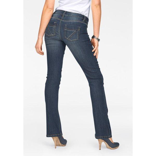 Arizona Bootcut-Jeans »mit Kontrastnähten«