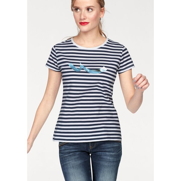 LTB T-Shirt »HIKELA« mit Streifen