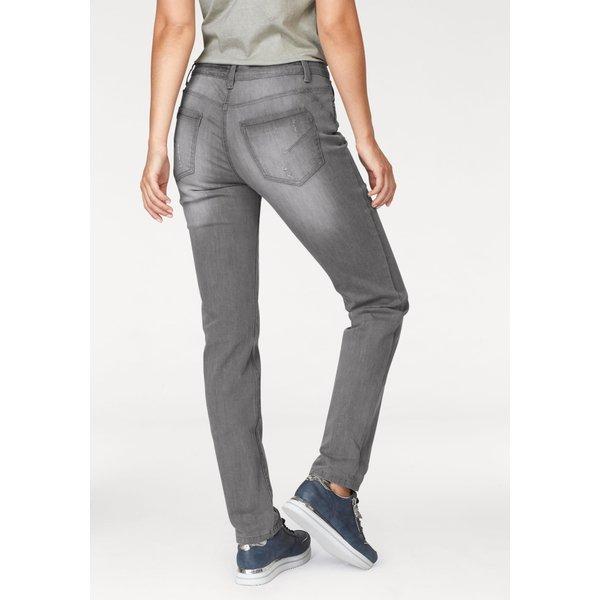 Aniston by BAUR Boyfriend-Jeans mit Knopfverschluss
