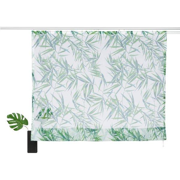 Raffrollo »Bambus«, my home, mit Klettschiene