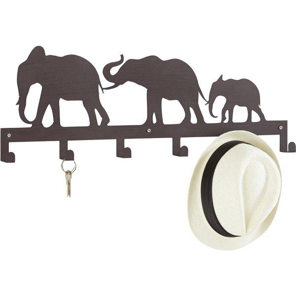 Home affaire Hakenleiste »Elefanten«, Breite 70 cm