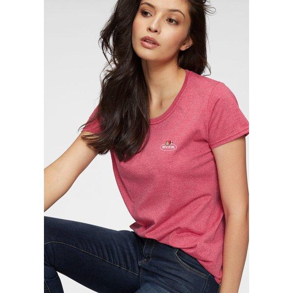 Fruit of the Loom T-Shirt mit kleinem Logo Print