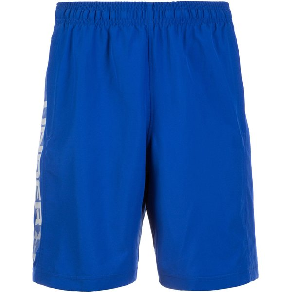 Under Armour Woven Graphic Shorts men's Shorts in Blue