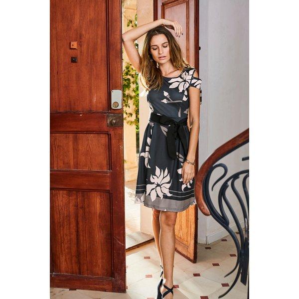 Aniston SELECTED Jerseykleid mit Bindegürtel
