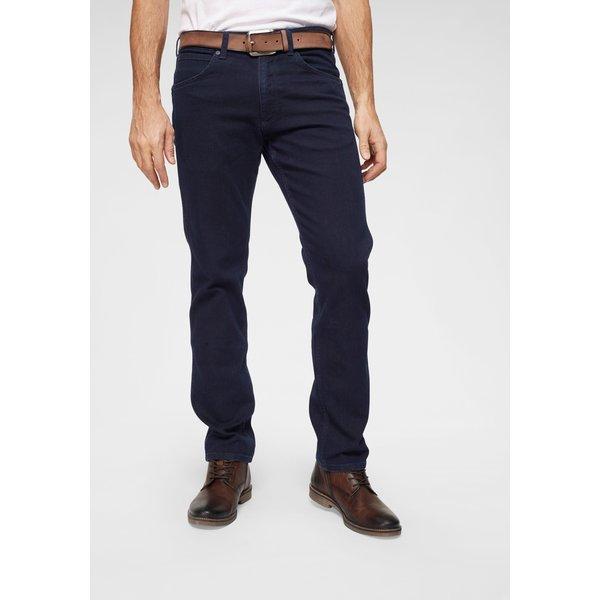 WRANGLER Stretch-Jeans 'Greensboro' black denim