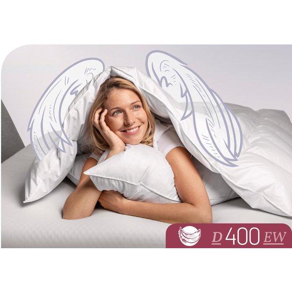 Schlafstil Daunendecke D400 extrawarm 90% Daunen, 10% Federn