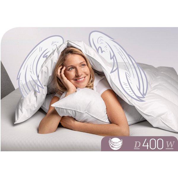 Schlafstil Daunendecke D400 warm 90% Daunen, 10% Federn