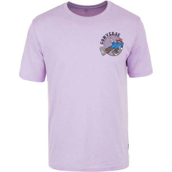 CONVERSE Sly Guy T-Shirt Herren lila Herren Gr. 54