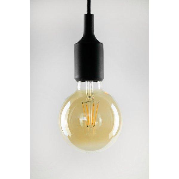 E27 6W 824 ampoule globe LED G95, doré (60484)