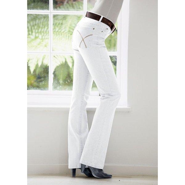 Cheer Bootcut-Jeans »Simone« Regular Waist