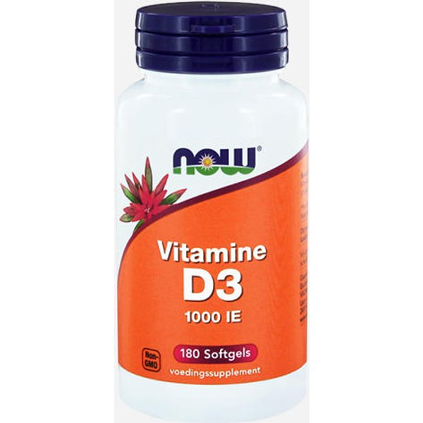 Now Foods Vitamin D3 (1000 IU) (20418)