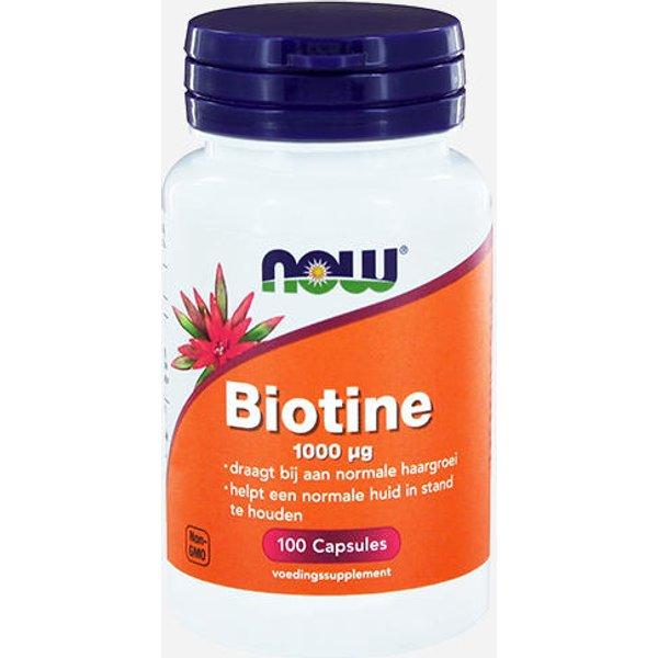 Now Foods Biotin 1000mcg (13325)