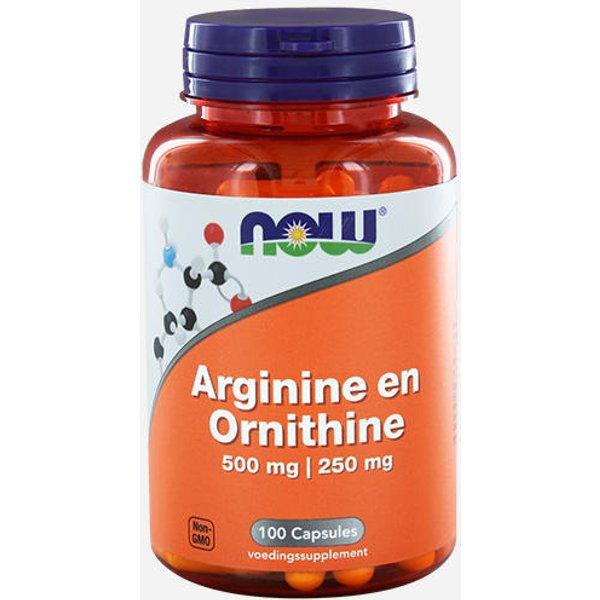 Now Foods Arginin & Ornithin (11242)
