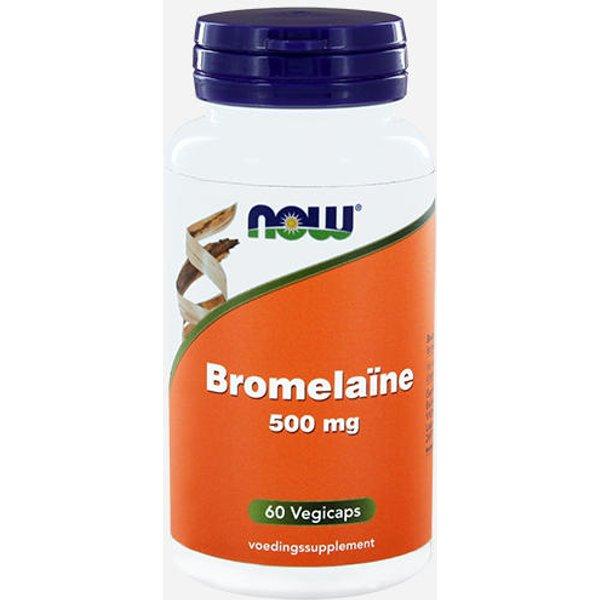 Now Foods Bromelain 500mg (12242)