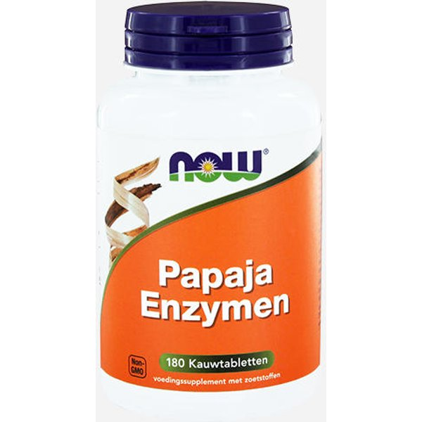 Now Foods Papaya-Enzyme (18707)