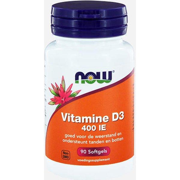Now Foods Vitamin D3 (20422)