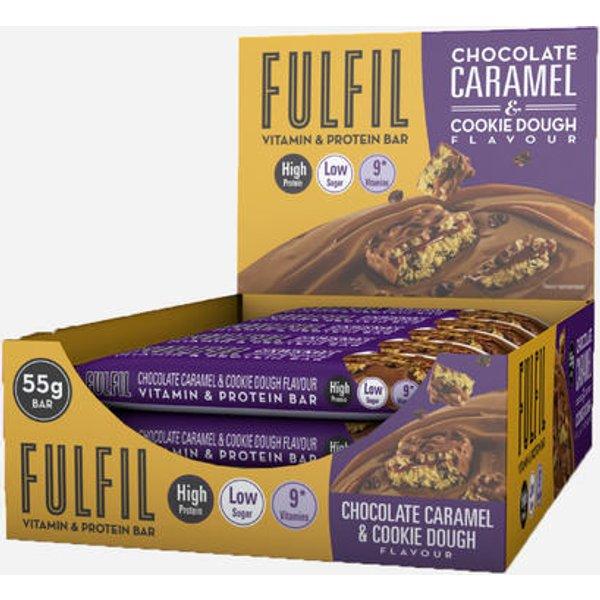 Fulfil Nutrition Vitamin & Protein Bars (33584)